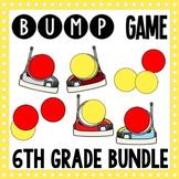 44 Math Center Games - 6th Grade Math Bump Games - Growing