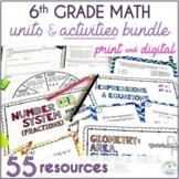6th Grade Math Bundle