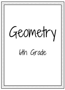 6th Grade Math (CCSS) Binder Covers