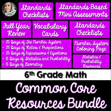 6th Grade Math Common Core Mini Bundle