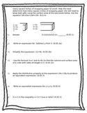 6th Grade Math Common Core Pretest/Post Test