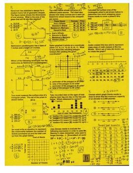 6th Grade Math Common Core Review