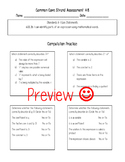 6th Grade Math Common Core Standard Assessments- ALL STANDARDS!