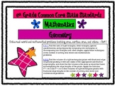 6th Grade Math Common Core Standards Posters *All Standards*