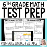 6th Grade Math Common Core Test Prep