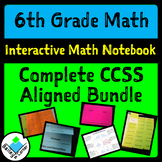 6th Grade Math Complete Interactive Bundle