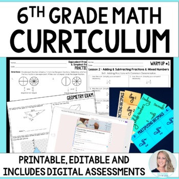 6th Grade Math Curriculum - Distance Learning