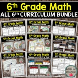 6th Grade Math Curriculum Bundle (Entire Year) DISTANCE LEARNING