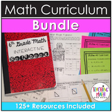 6th Grade Math Curriculum Resources BUNDLE
