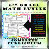 6th Grade Math - Full Year Curriculum Bundle - 2,000+ Pages