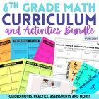 6th Grade Math Curriculum and Activities