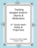 6th Grade Math Data Tracker (Bundle) - Ratios & Proportions