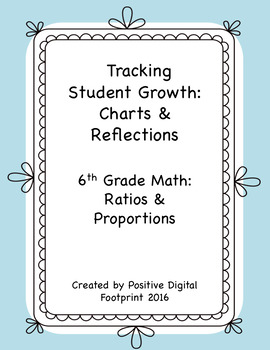 6th Grade Math Data Tracker (Bundle) - Ratios & Proportions