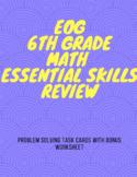 6th Grade Math EOG Essential Skills review