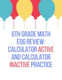 6th Grade Math EOG Practice