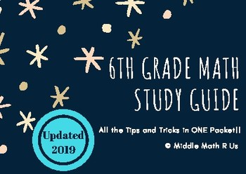6th Grade Math EOG Study Guide