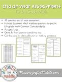 6th Grade Math End of Year Cumulative Assessment