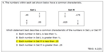 6th Grade Math End-of-Year Practice Exam
