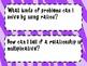 6th Grade Math Essential Questions Neon Zebra Print *Common Core Aligned*