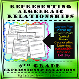 6th Grade Math – Expressions and Equations – Writing and Modeling Equations