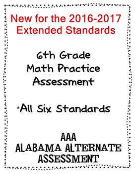 6th Grade Math Extended Standards Practice Test Alabama Al