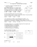 6th Grade Math Final Benchmark Test Review