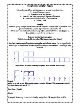 6th Grade Math Final Review Packet