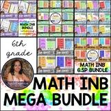 6th Grade Math MEGA BUNDLE (Interactive Notebook Series)