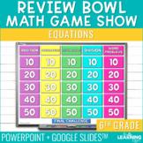 6th Grade Math Game | Equations