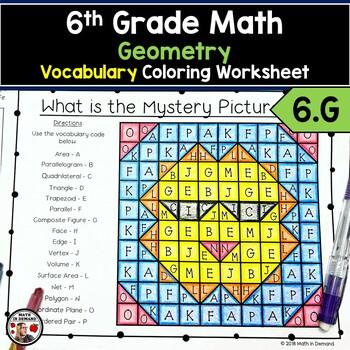 6th Grade Math Geometry Teaching Resources | Teachers Pay Teachers