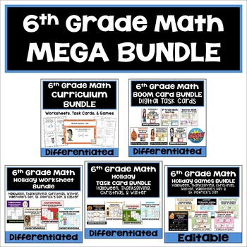 6th Grade Math MEGA Bundle