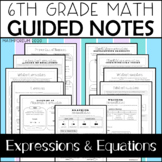 Expressions & Equations Guided Notes