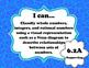 "6th Grade Math ""I Can"" Statements - TEKS"
