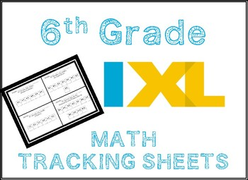 Ixl Tracking Sheet Worksheets & Teaching Resources | TpT
