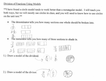 6th Grade Math: Interactive Math Notebook for the Entire Year