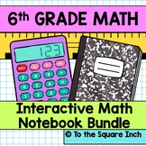 6th Grade Math Interactive Notebook