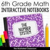 6th Grade Math Interactive Notebooks Guided Notes for The Number System