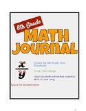 6th Grade Math Journal