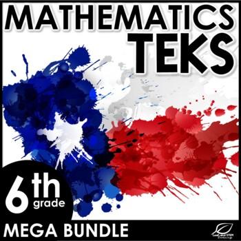 6th Grade Math Mega Bundle {Texas TEKS}