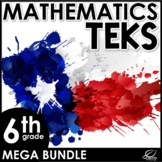 6th Grade Math TEKS Mega Bundle