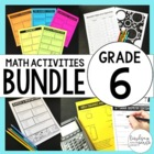 6th Grade Math Common Core Bundle {A Growing Bundle}
