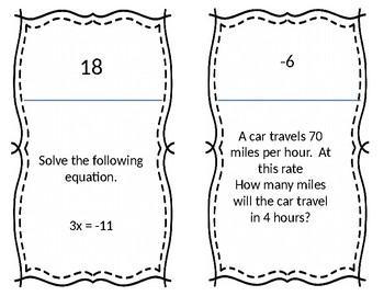 6th Grade STAAR Math Mixed Review