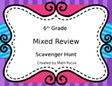 6th Grade STAAR Math Mixed Review