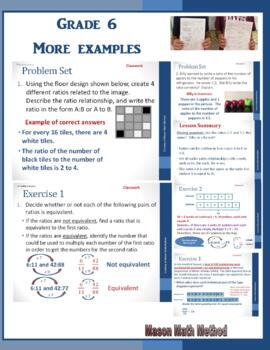 6th Grade Math Module 1 Lessons 1-28 Powerpoints