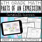 Parts of an Expression Complete Lesson (Distance Learning)