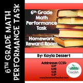 6th Grade Math Performance Task