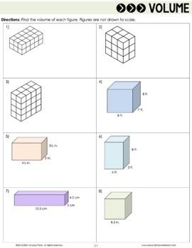 6th Grade Math Summer Prep Packet
