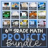 6th Grade Math Projects Distance Learning | Digital and Pr