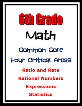 6th Grade Math - Ratios, Rational Numbers, Expressions, St