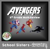 6th Grade Math Review - Avengers Themed